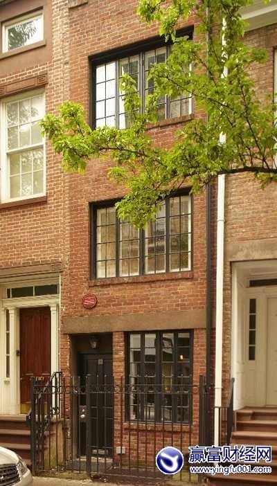 """纽约""""最瘦住宅""""卖出325万美元天价 仅2.5米宽"""