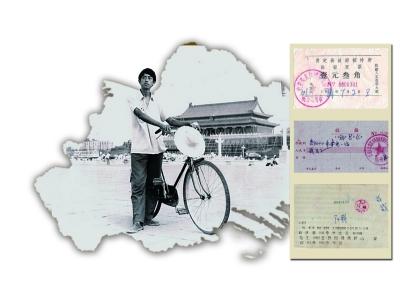 """30年前""""穷游""""啥样子 退休教师晒当年三千公里骑行记"""