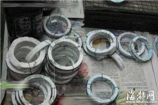 B货翡翠造假全程曝光:数元原石染色卖上万