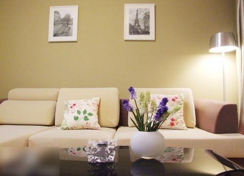 温馨家居案例图 90平两室两厅装修