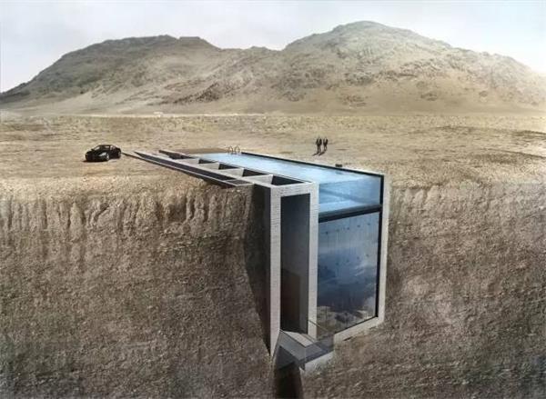 全球最高大上的地下室别墅:地下室也很壕