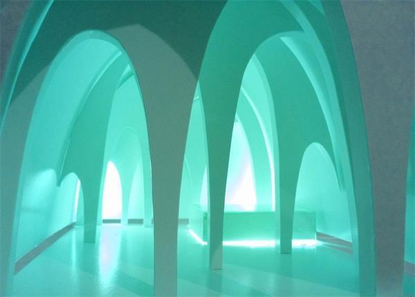 瑞典冰雪酒店华美套房设计图 将用5000吨冰雪打造