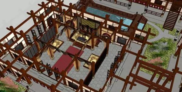 818《琅琊榜》中苏兄的苏宅 中式装修布置的典范